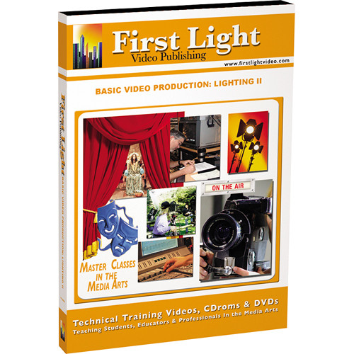 First Light Video DVD: Basics in Lighting: Part II