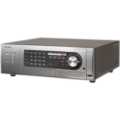 Panasonic WJ-HD716 16-Channel H.264 Digital Disk Recorder (4 TB)