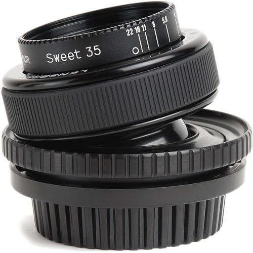 Lensbaby Composer Pro PL Special Effects Cinema Lens with Sweet 35 Optic