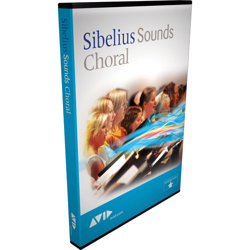 Sibelius Choral - Choral Sample Library for Sibelius 6 - Educational Institution Discount (Pricing per Seat for 11 to 50 Seats)