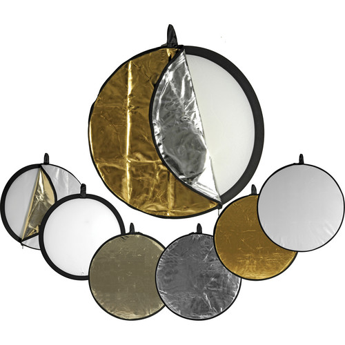 Impact 5-in-1 Collapsible Circular Reflector Disc - 42