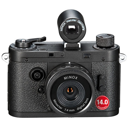 Minox DCC 14.0 Digital Camera (Black)