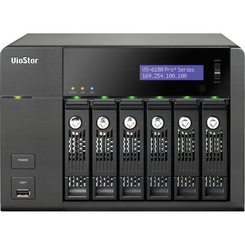 QNAP VS-6116 Pro+ 16-Channel VioStor Tower NVR