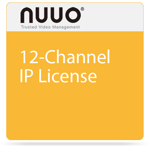 NUUO 12-Channel IP License