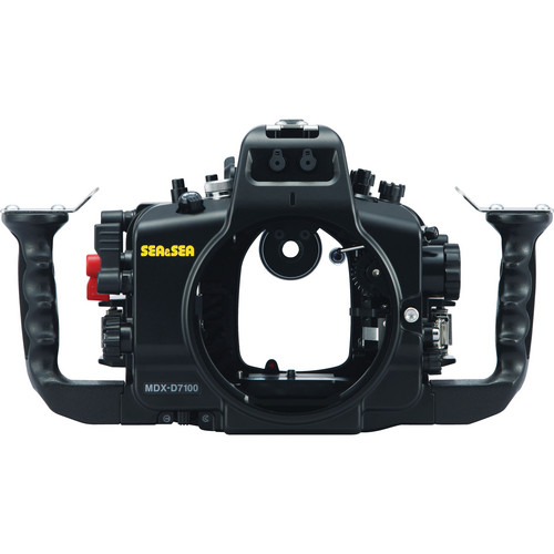 Sea & Sea MDX-D7100 Underwater Housing for Nikon D7100 or D7200 DSLR Camera