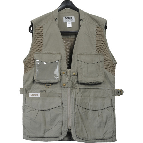 Domke PhoTOGS Vest (Small, Khaki)