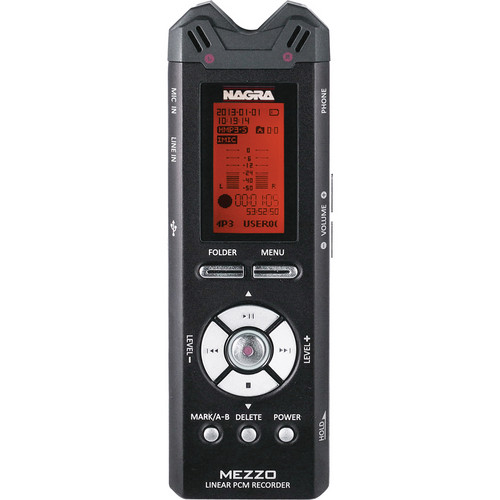 Nagra MEZZO Portable Digital Recorder with Built-In Stereo Microphones