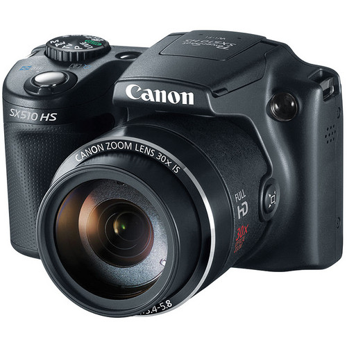 Canon Power Shot SX510 HS Point-and-Shoot Camera