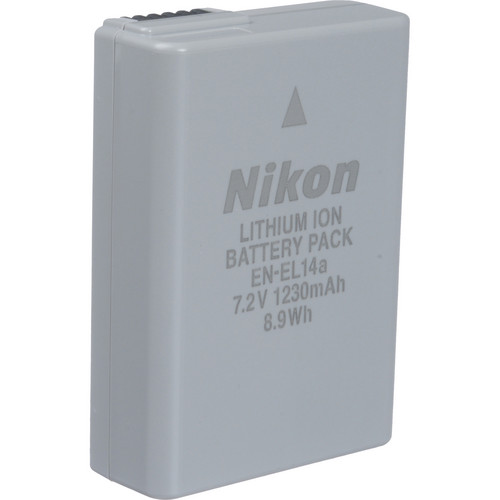 Nikon EN-EL14A Rechargeable Li-Ion Battery for Select Nikon Cameras