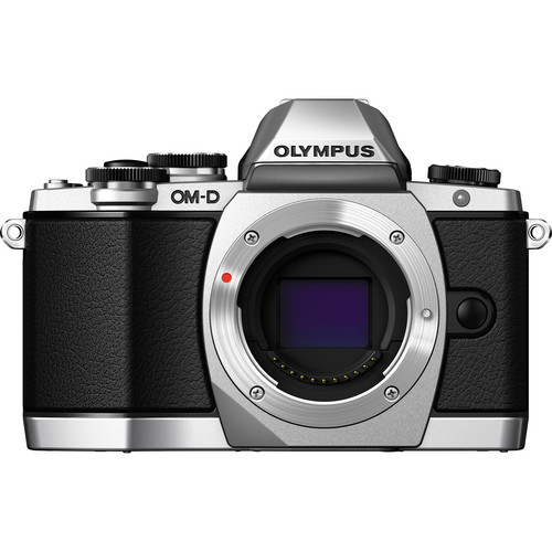 Olympus OM-D E-M10 Mirrorless Micro Four Thirds Digital Camera (Body Only, Silver)
