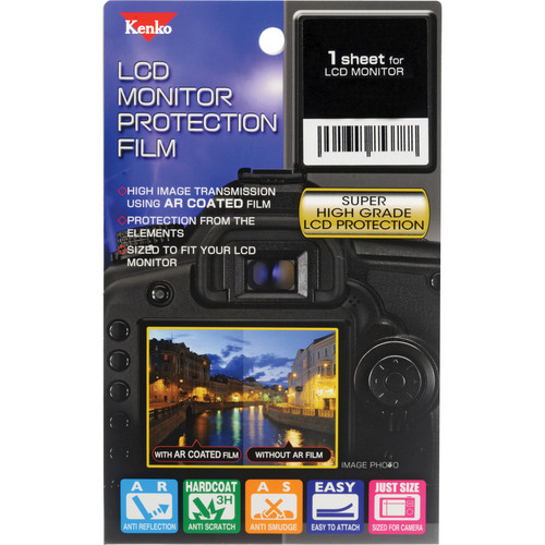 Kenko LCD Monitor Protection Film for the Canon EOS Rebel T5i Camera
