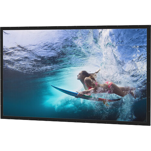 Da-Lite 78679 Perm-Wall Fixed Frame Projection Screen (78 x 139