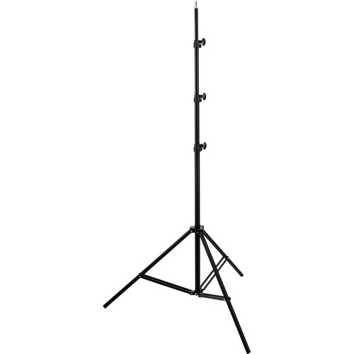 Impact Air-Cushioned Light Stand (Black,10')