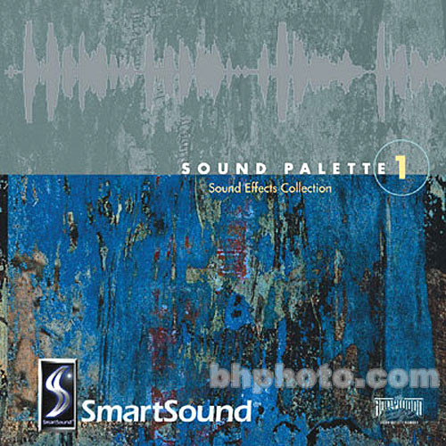 SmartSound Sample CD: Sound Effects Collection (44k) - Sound Palette Volume 01