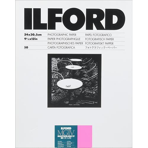 Ilford Multigrade IV RC Deluxe MGD.1M Black & White Variable Contrast Paper (9.44 x 12
