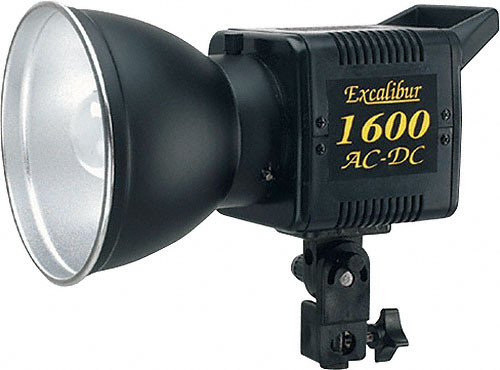 SP Studio Systems Excalibur 1600 - 160 Watt/Second AC/DC Monolight (120VAC/12VDC)