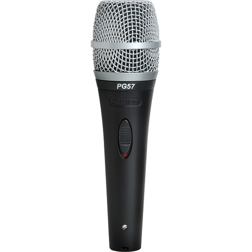 Shure PG57 - Instrument Mic with XLR-XLR Cable