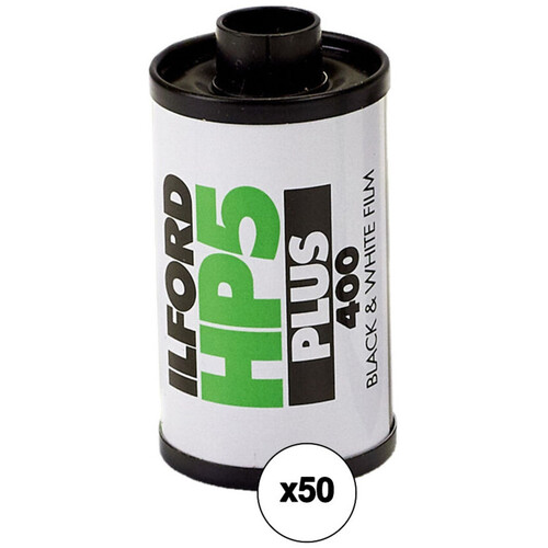 Ilford HP5 Plus 135-36 Black & White Print Film (ISO-400) - 50 Roll Pack