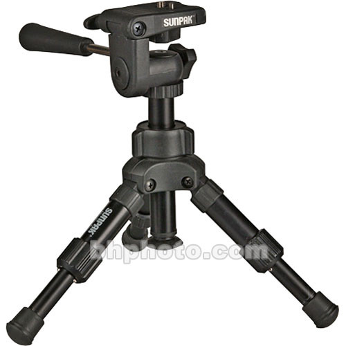 Sunpak Mini Pro Plus Tripod with 3 Way Panhead
