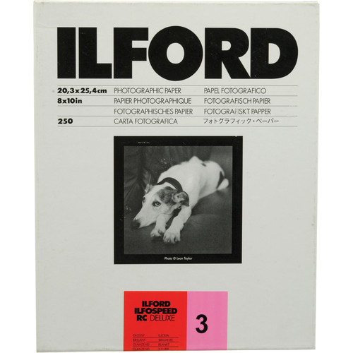 Ilford Ilfospeed RC Deluxe Graded Paper (8 x 10