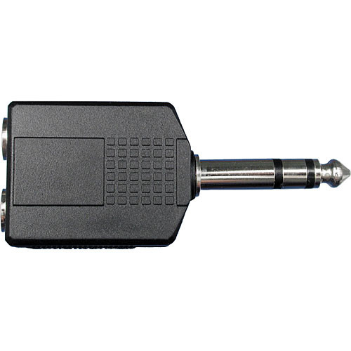 Hosa Technology GPP359 Stereo Phone to 2 Stereo Phone Adapter