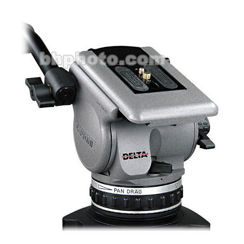 Cartoni D600 Delta Fluid Head (100mm Ball Base)