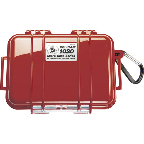 Pelican 1020 Micro Case (Solid Red)