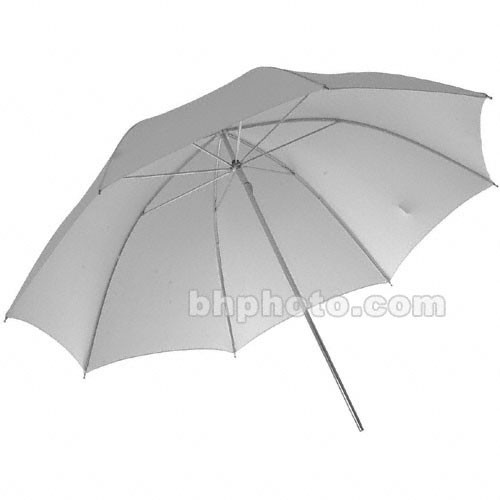 Photogenic Umbrella - White Satin - 45