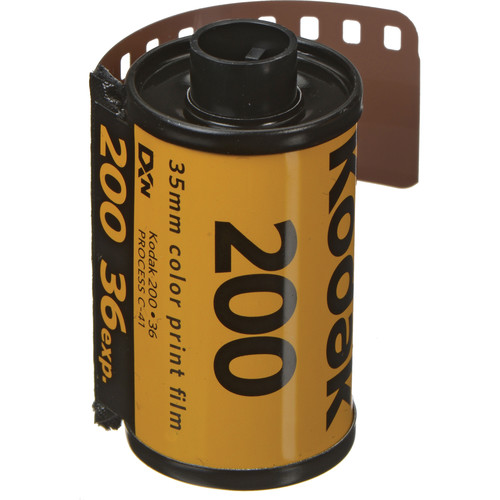 Kodak 135-36 200 Color Print Film (ISO-200)