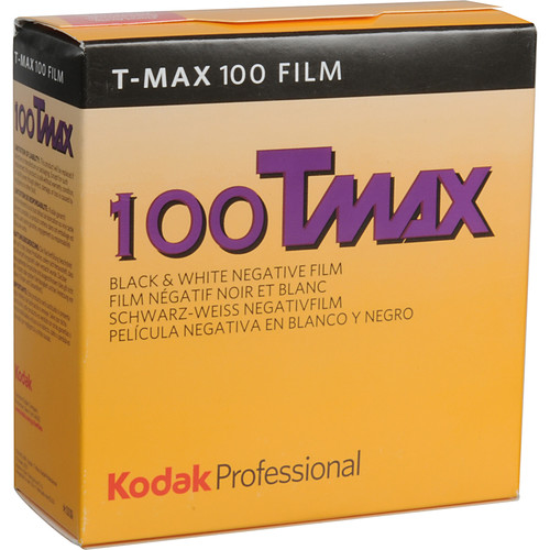 Kodak Professional T-Max 100 Black and White Negative Film (35mm Roll Film, 100' Roll)
