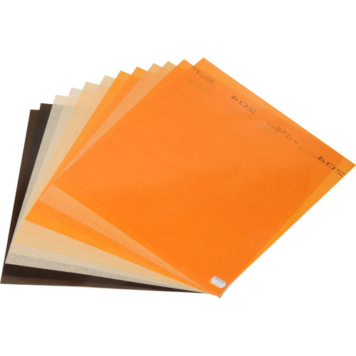 LEE Filters Daylight to Tungsten Filter Lighting Pack - 12 Sheets (12 x 12