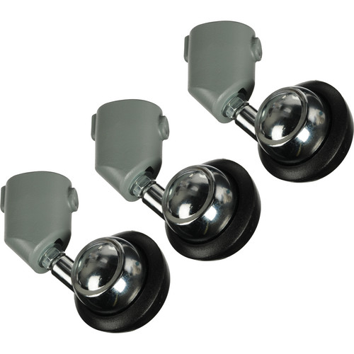 Manfrotto Casters for Light Stands - Set of Three