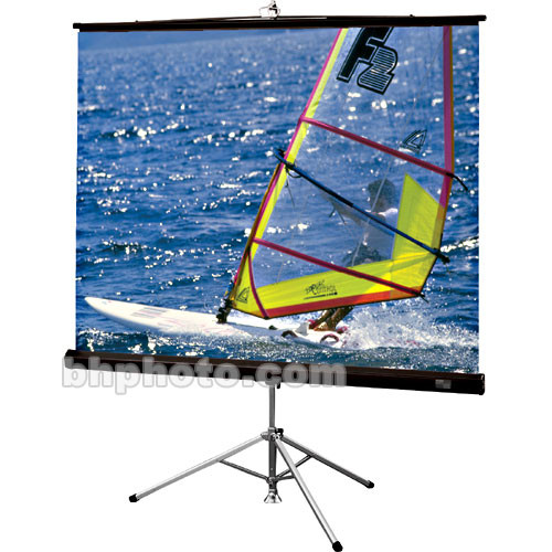 Draper Diplomat/R Portable Tripod Projection Screen - 96 x 96