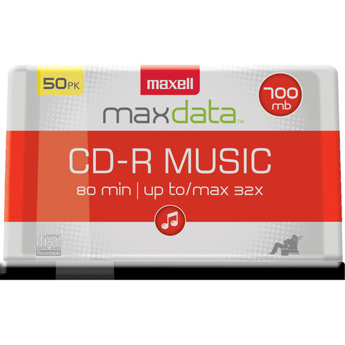 Maxell CD-R 80 Music Gold (50)