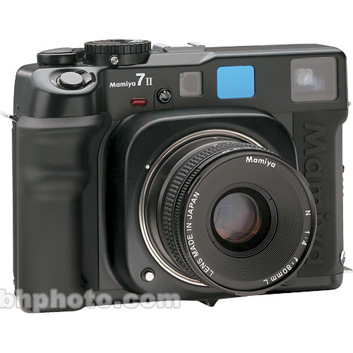 Mamiya 7 II Pro Value Pack Medium Format Rangefinder MF Camera Body (Black)