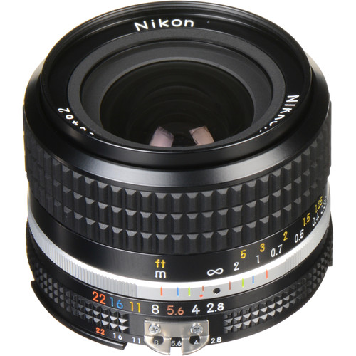 Nikon NIKKOR 24mm f/2.8 AIS Manual Focus Lens