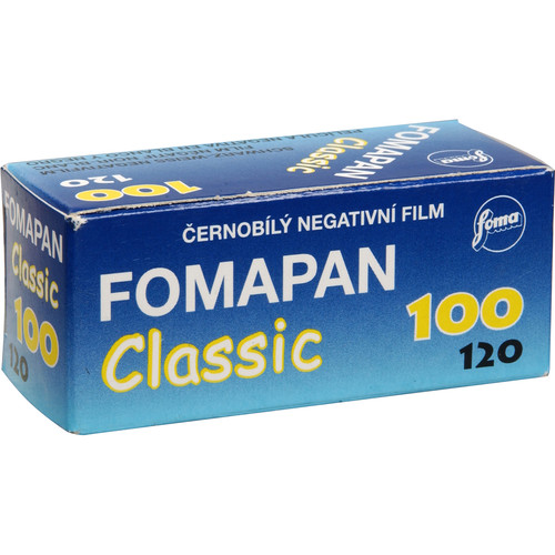 Foma Fomapan Classic 100 120mm Black and White Print (Negative) Film