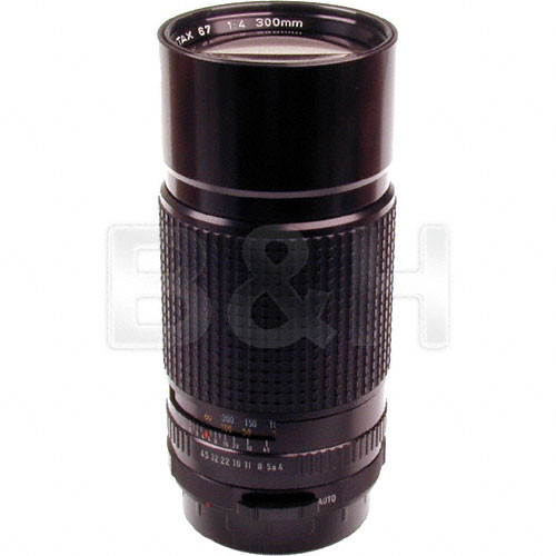Pentax Telephoto 300mm f/4 Lens for Pentax 67