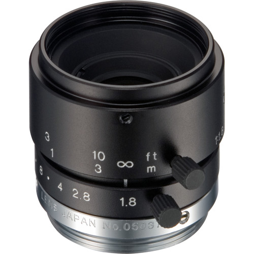 Tamron 23FM12LL 2/3 12mm F/1.8 High Resolution C-Mount Lens with Lock