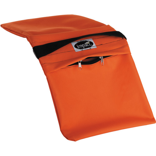 Impact Empty Saddle Sandbag - 27 lb (Orange)