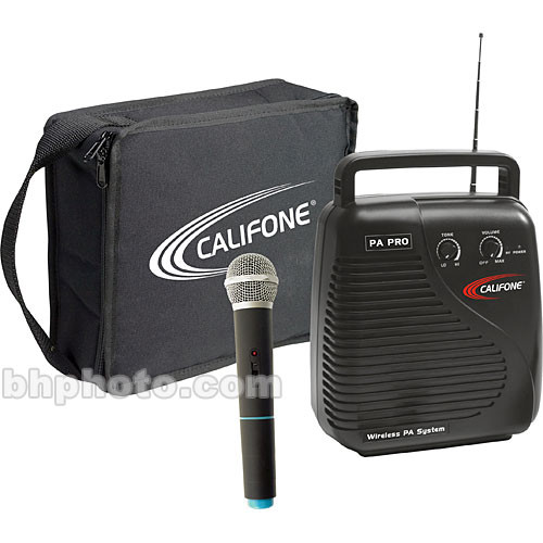 Califone PA10A1 PA-Pro Public Address with Wireless Microphone