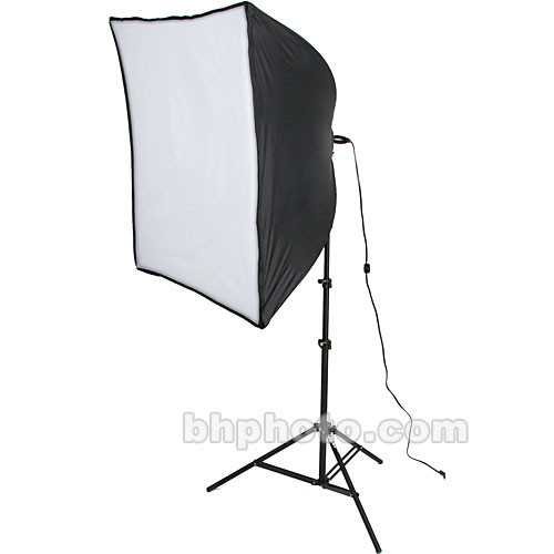 Smith-Victor KSB-500 500 Watt Economy SoftBox Light Kit (120V)