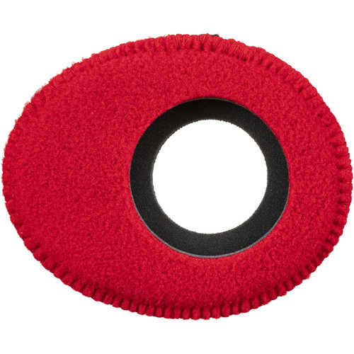 Blue Star Oval Large Fleece Eyecushion (Red)