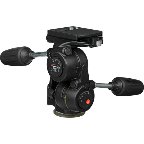 Manfrotto 808RC4 3-Way Pan/Tilt Head with RC4 Quick Release -
