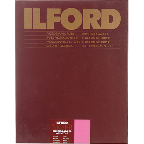 Ilford Multigrade FB Warmtone Fiber Base Paper (42