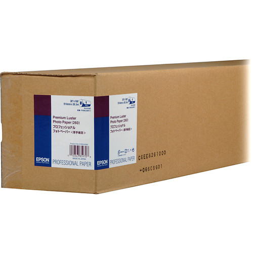 Epson Ultra Premium Luster Archival Photo Inkjet Paper (36