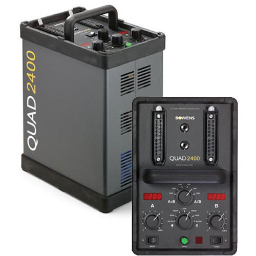 Bowens Quad 2400 Power Pack (120V)