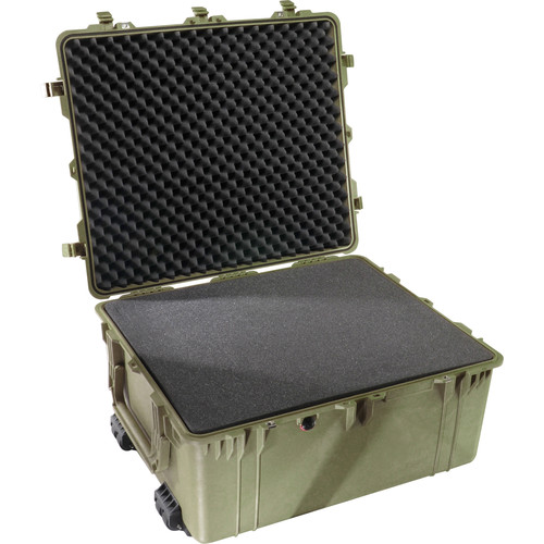 Pelican 1690 Transport Case with Foam (Olive Drab Green)