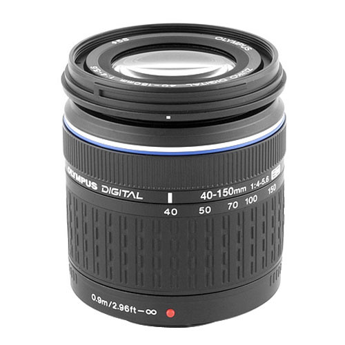 Olympus 40-150mm f/4-5.6 Zuiko ED Zoom Lens for Olympus Digital Cameras (Four Thirds System)