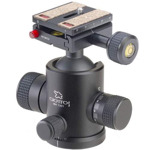 Giottos MH-1301 Pro Series II Medium Ballhead with MH-656 Quick Release System